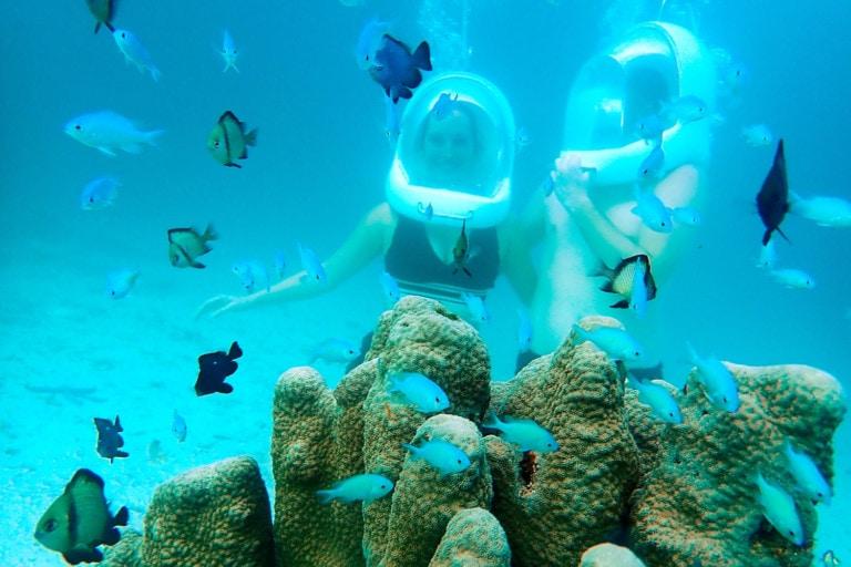 Boracay Helmet Diving Korallen