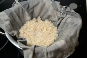 Reis dämpfen