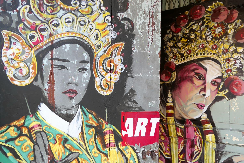 Street Art auf Penang